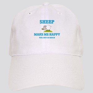 Sheep Make Me Happy Cap